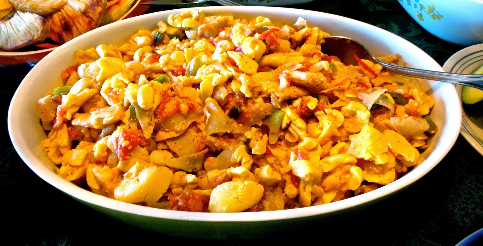 10 foods to try when you visit jamaica for Salt fish ackee